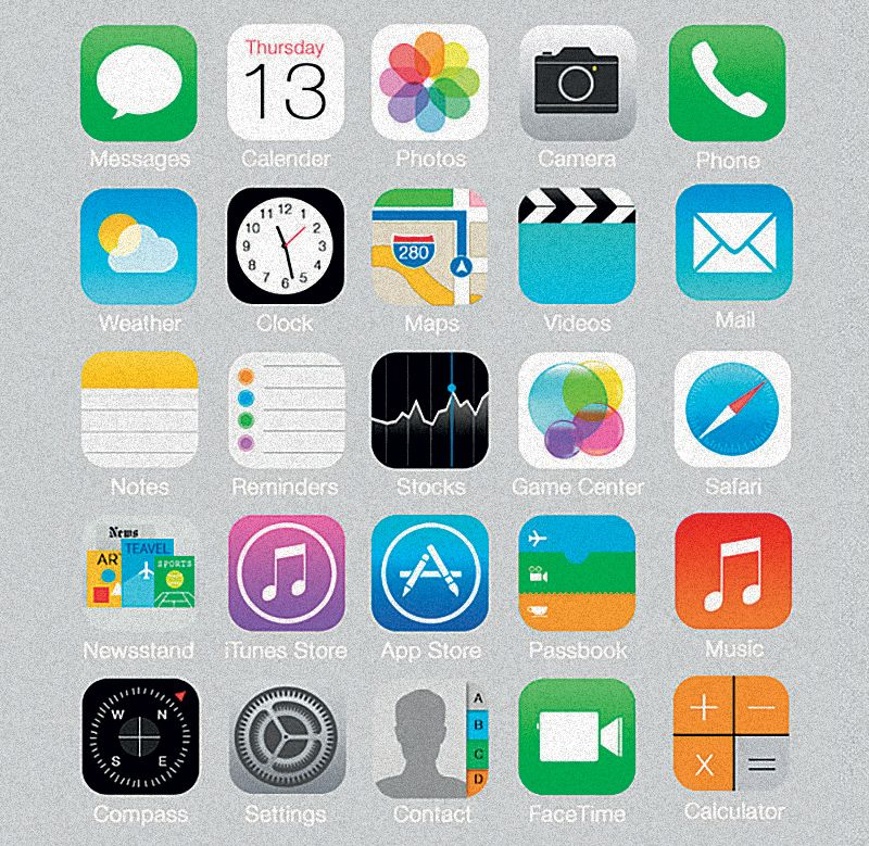 How Your Brain Understands Visual Language Iphone icon