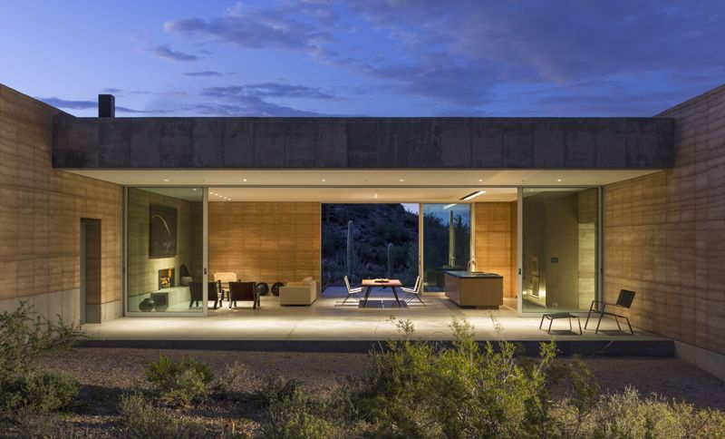 Design Waffle Tucson Mountain Retreat By Dust Rammed Earth Homes Earth Homes Architecture