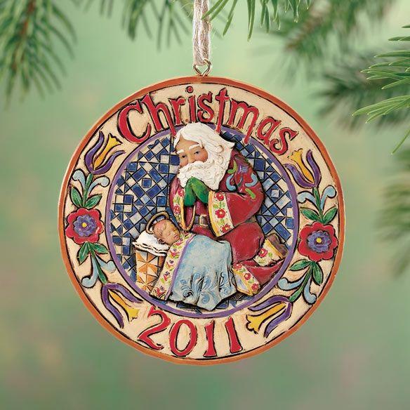Jim Shore 2011 Ornament