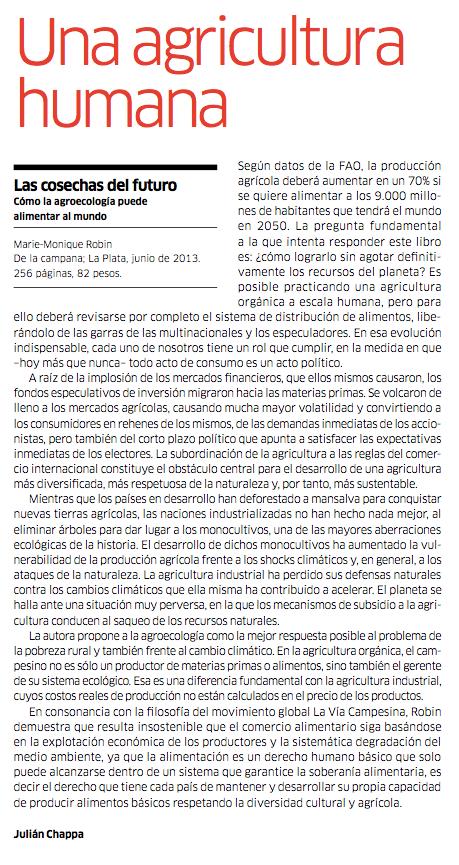 Publicado en «Le Monde Diplomatique» Nº 173 (noviembre de 2013).