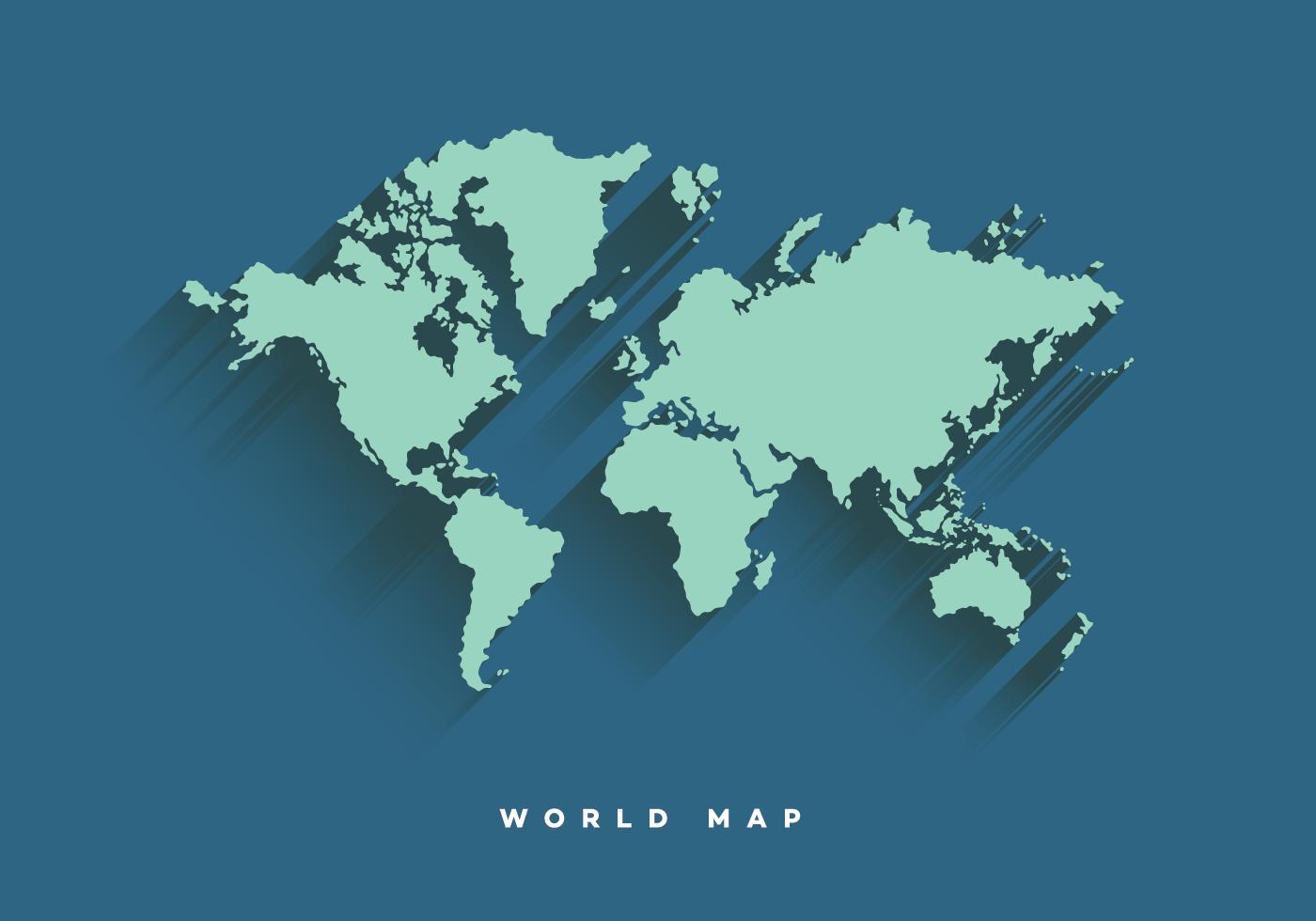 World map vector design pinterest free vector art vector