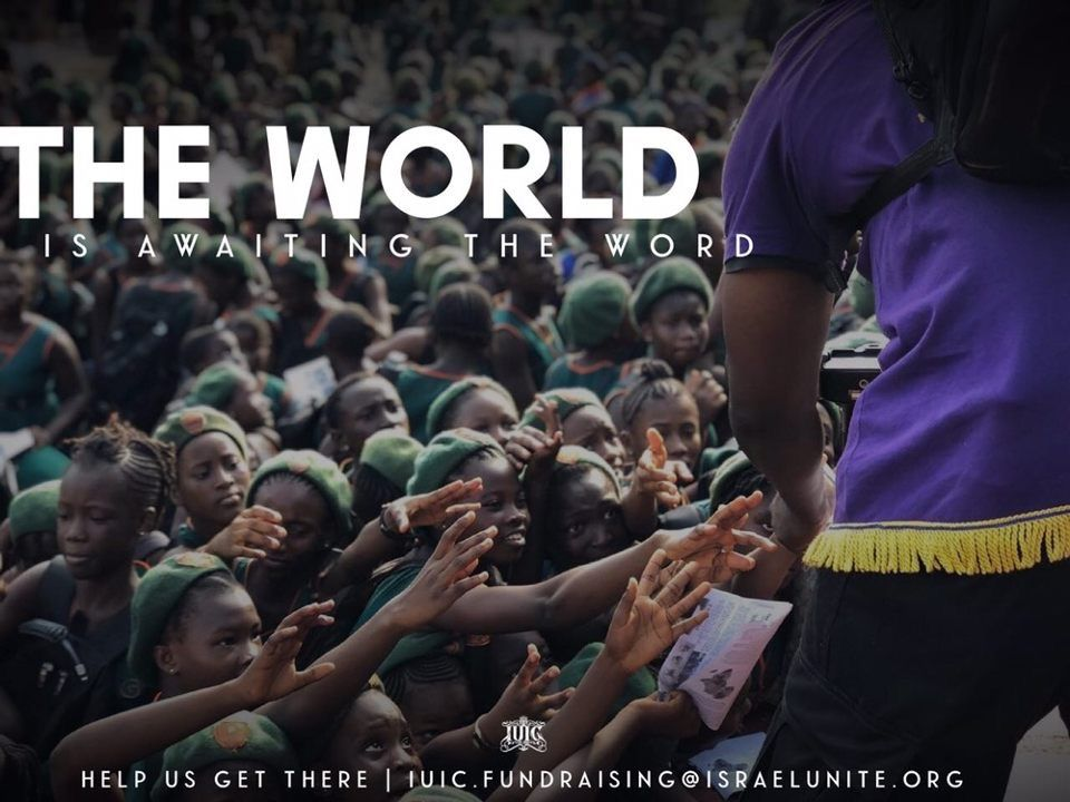 The World is awaiting the Word! Are you willing to help