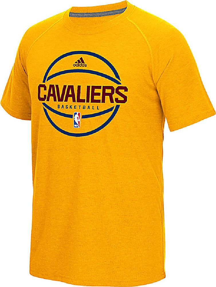 b3ea3f14a59f Cleveland Cavaliers Adidas Gold Pre-Game Ultimate Synthetic Slim Fit Short  Sleeve Shirt  34.95