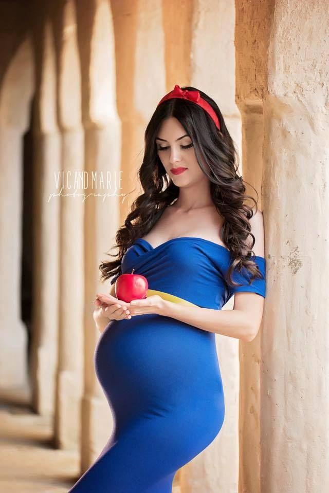 6fbfa6647991b Snow White (Maternity Photo Shoot by VicAndMariePhotography)  #SnowWhiteAndTheSevenDwarfs