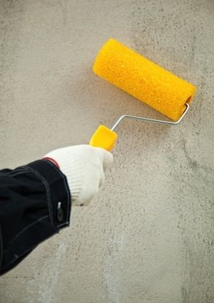 How To Paint Concrete Painting Concrete Painting Concrete Walls Outdoor Paint