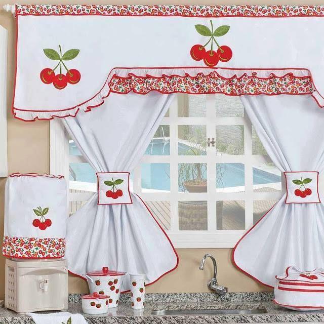 cortinas cocina | COCINA | Pinterest | Cortinas cocina, Cortinas y ...