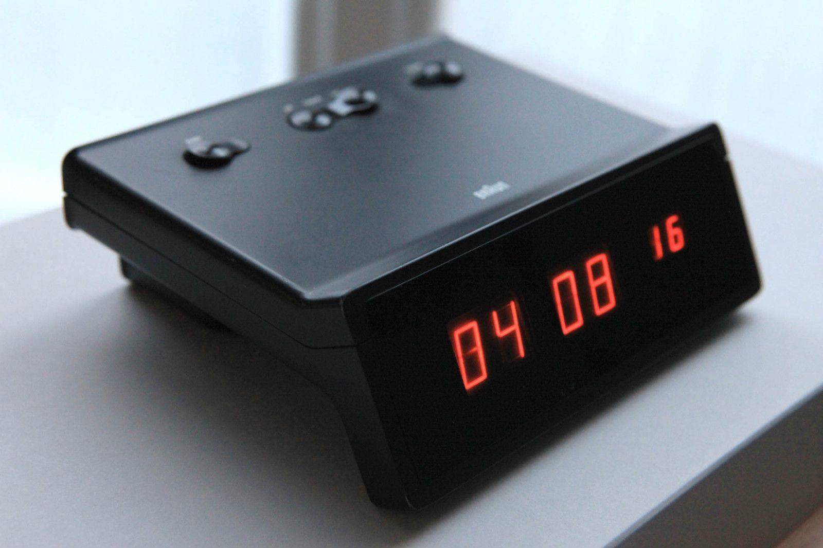 Details About Braun Functional Typ 4815 Alarm Clock Wecker