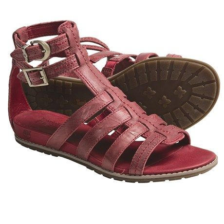 350aff839ef Timberland Earthkeepers Kennebunk Braided Gladiator Sandals - Leather (For  Women)