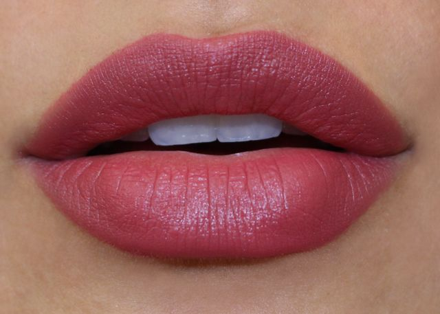 Huda Beauty, Revlon ColorBurst Matte Balm in Sultry. I'm not usually a drug store makeup fan but this color is gorgeous on my olive skin. It's very smooth and has ok staying power - totally worth the $6-$7.