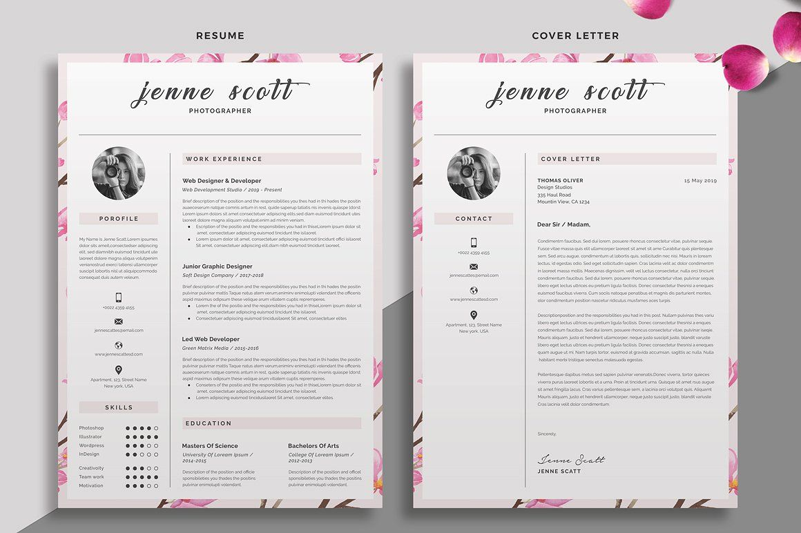 30 EyeCatching Professional and Beautiful Resume