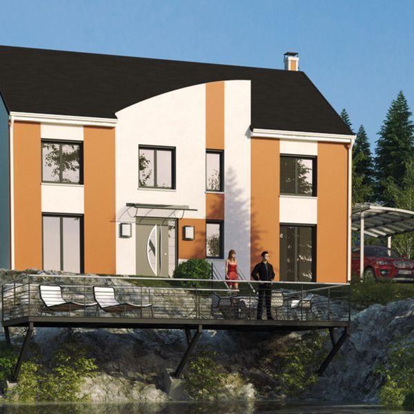 Modèle de maison Lake Tahoe -  Retrouvez tous les types de maison à - idee de plan de maison