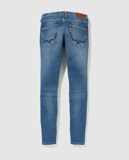 Photo of Pepe Jeans – Jeans blu da bambino di Pepe Jeans con strappi