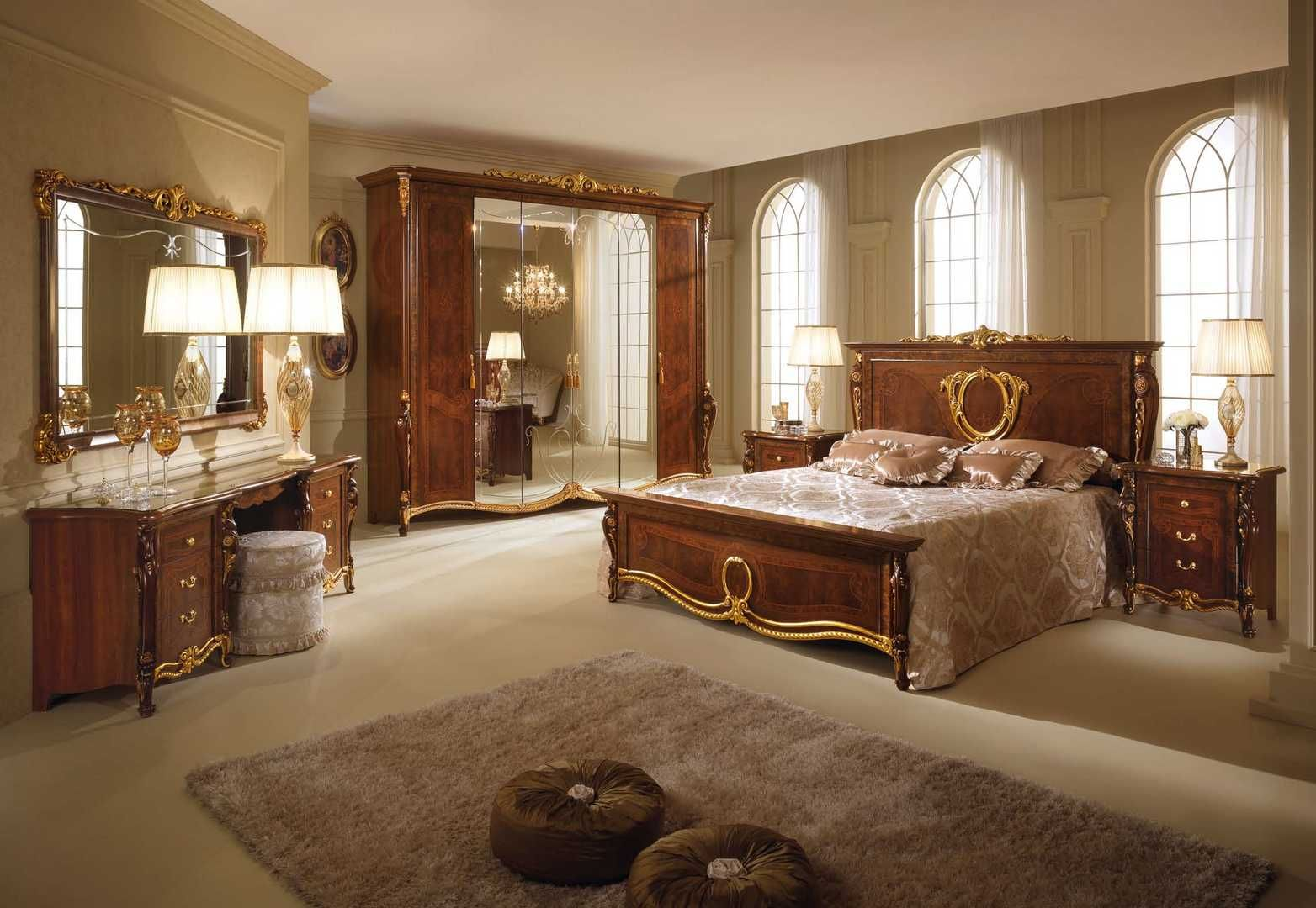Italian Luxury Furniture | Italian Bedroom Furniture Collection Created By  Skilled Italian .