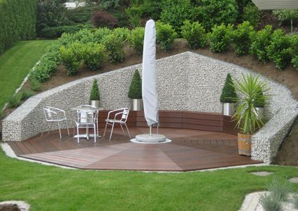 Wp Gabionen Projekte Garten Garte