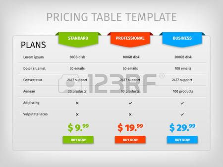Image result for info graphic tables ADOBE STOCK Pinterest Adobe - comparison template word