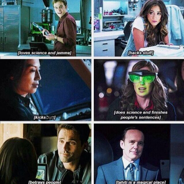 Agents of Shield!❤️