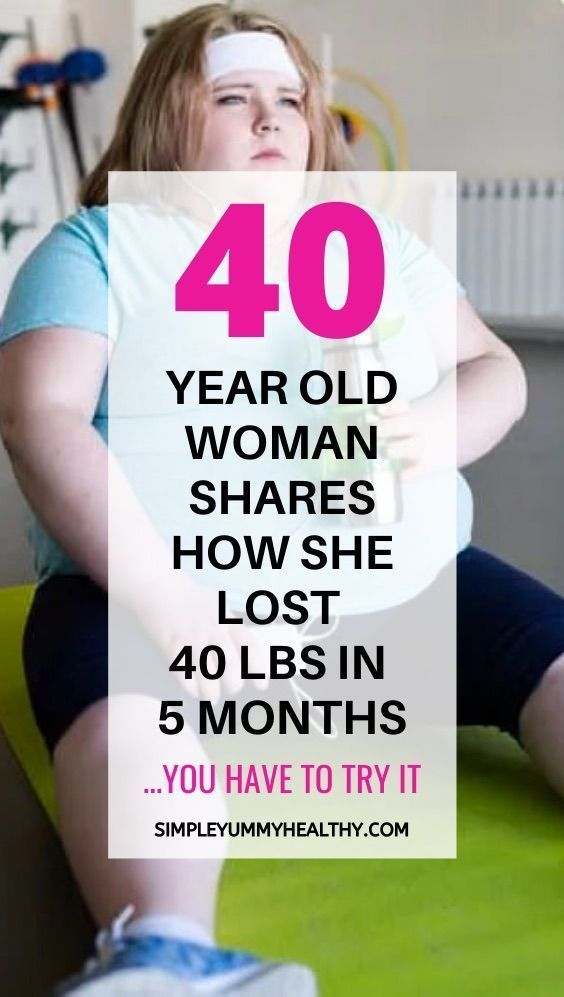 Weight loss advice from 40 year old woman who lost 40 pounds in 5 months | healthy weight loss for w...