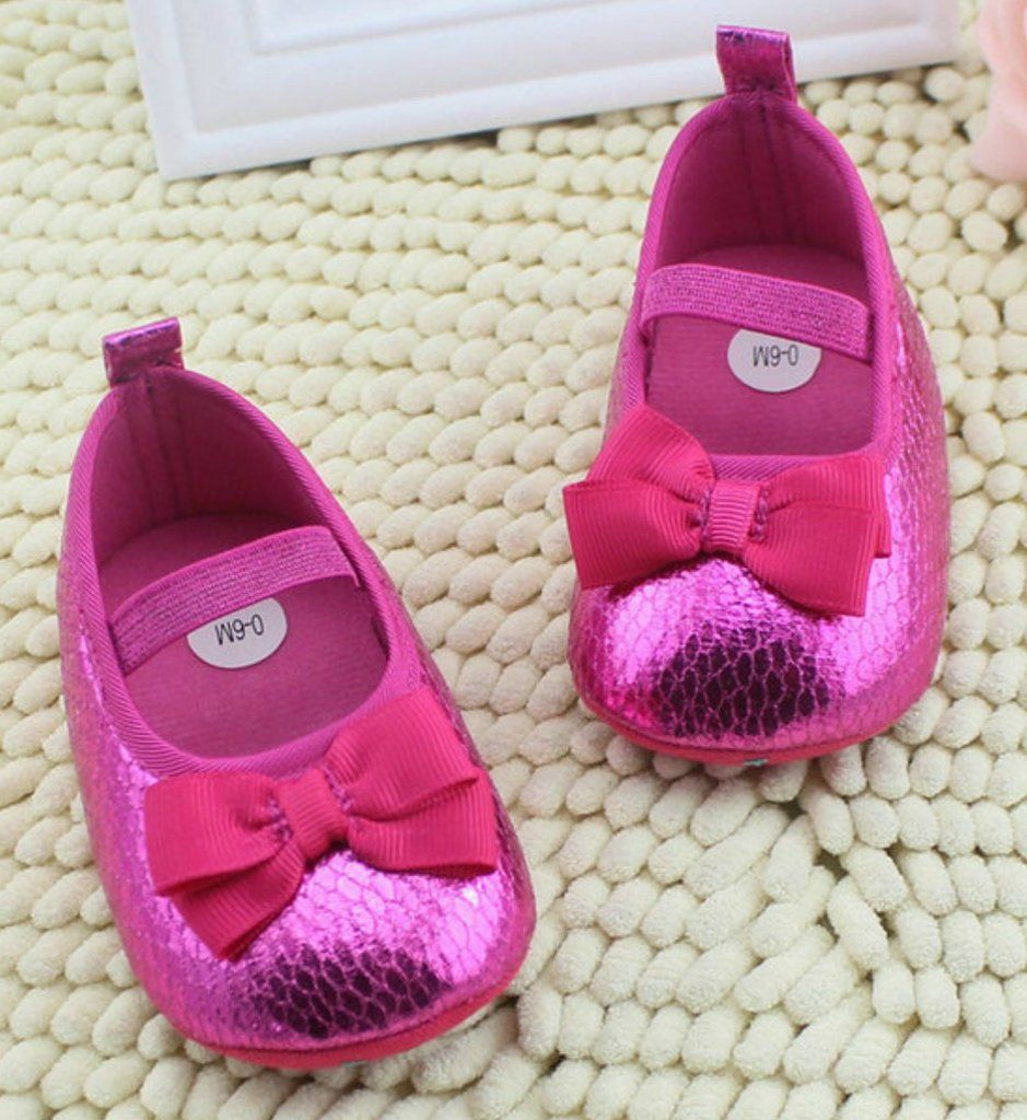 Sparkle Fuchsia Baby Shoes Little Girls Pinterest Girls Shoes