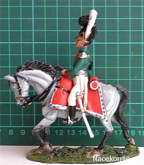 Officer, Bavarian Chevau-legers, 1812 Del Prado: Cavalry of the Napoleonic Wars