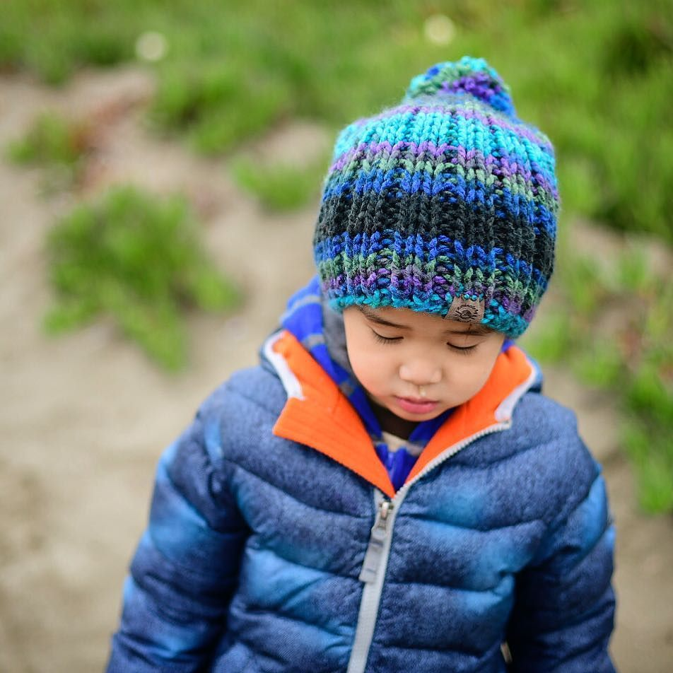 Having a stroll before the rain. . . . Pattern: Knit Riley Slouch ...