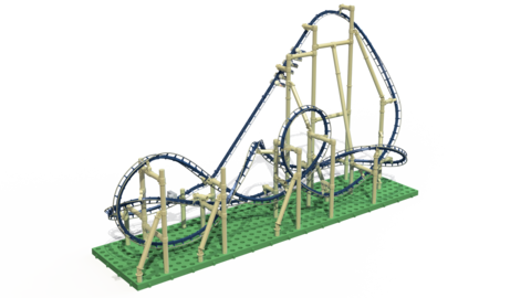Limited Edition Scorpion Roller Roller Coaster Coasters