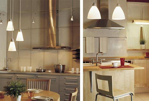 Lámparas colgantes para cocinas Cocinas Pinterest