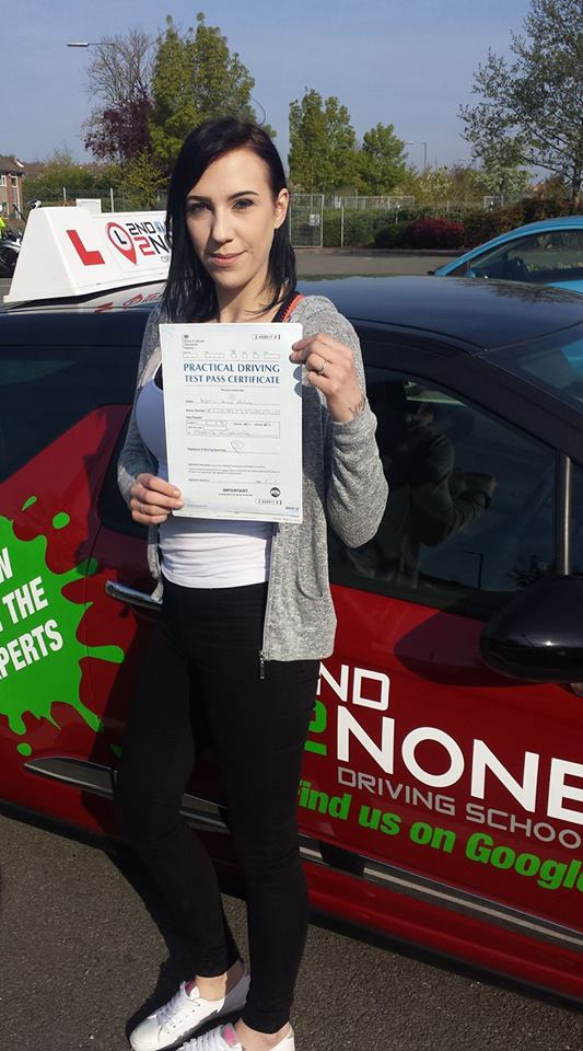 Congratulations to Katie Holding from Keynsham who passed her driving test today 19/04/17 in Kingswood FIRST time!  Well done Katie & safe driving in the future from your driving instructor Kevin Allen & all at 2nd2None Driving School   https://www.2nd2nonedrivingschool.co.uk/driving-lessons-bristol.html