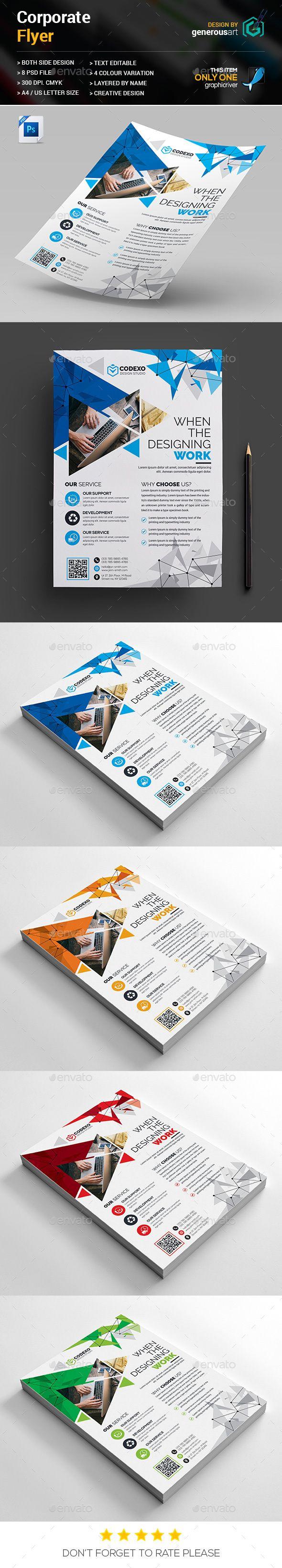 Flyers Design | Diseño corporativo, Folletos y Diversidad