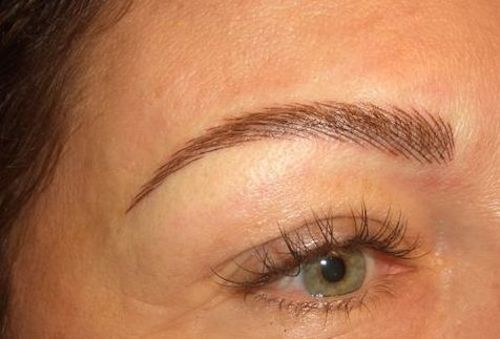 Permanent eyebrow tatooing for redheads would you do it for Tattooed eyebrows pictures