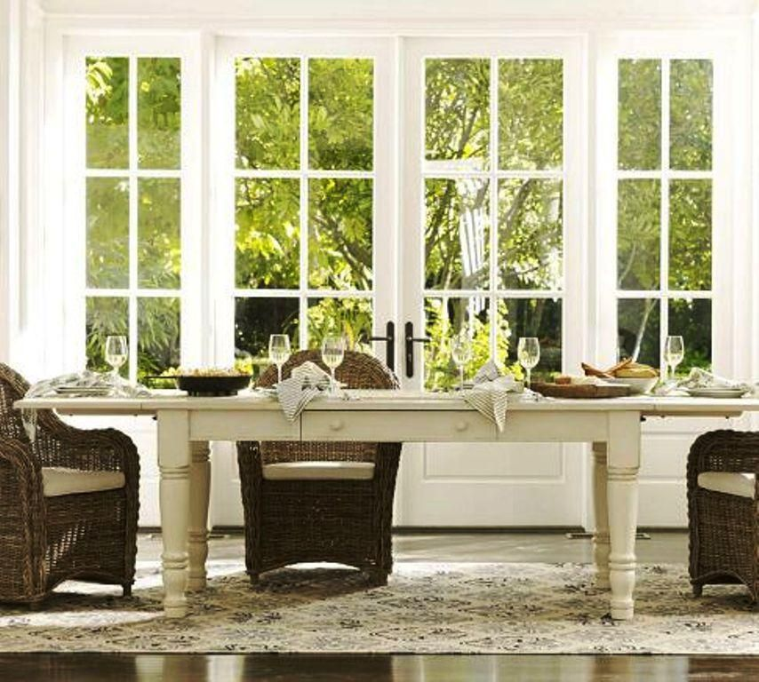 Pottery Barn | Norfolk Dining Table By Pottery Barn : Photos :  ArchitectureDecor.com