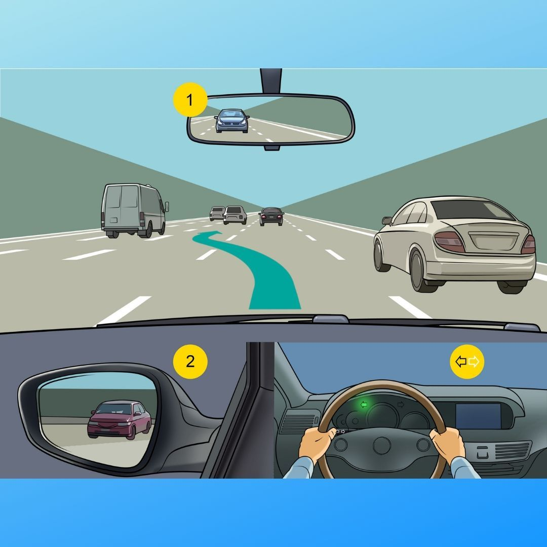 Look Carefully Before You Start Reversing Tips Use All Your Mirrors Check The Blind Spot Behind You The Pa Driving School Driving Instructor Driving