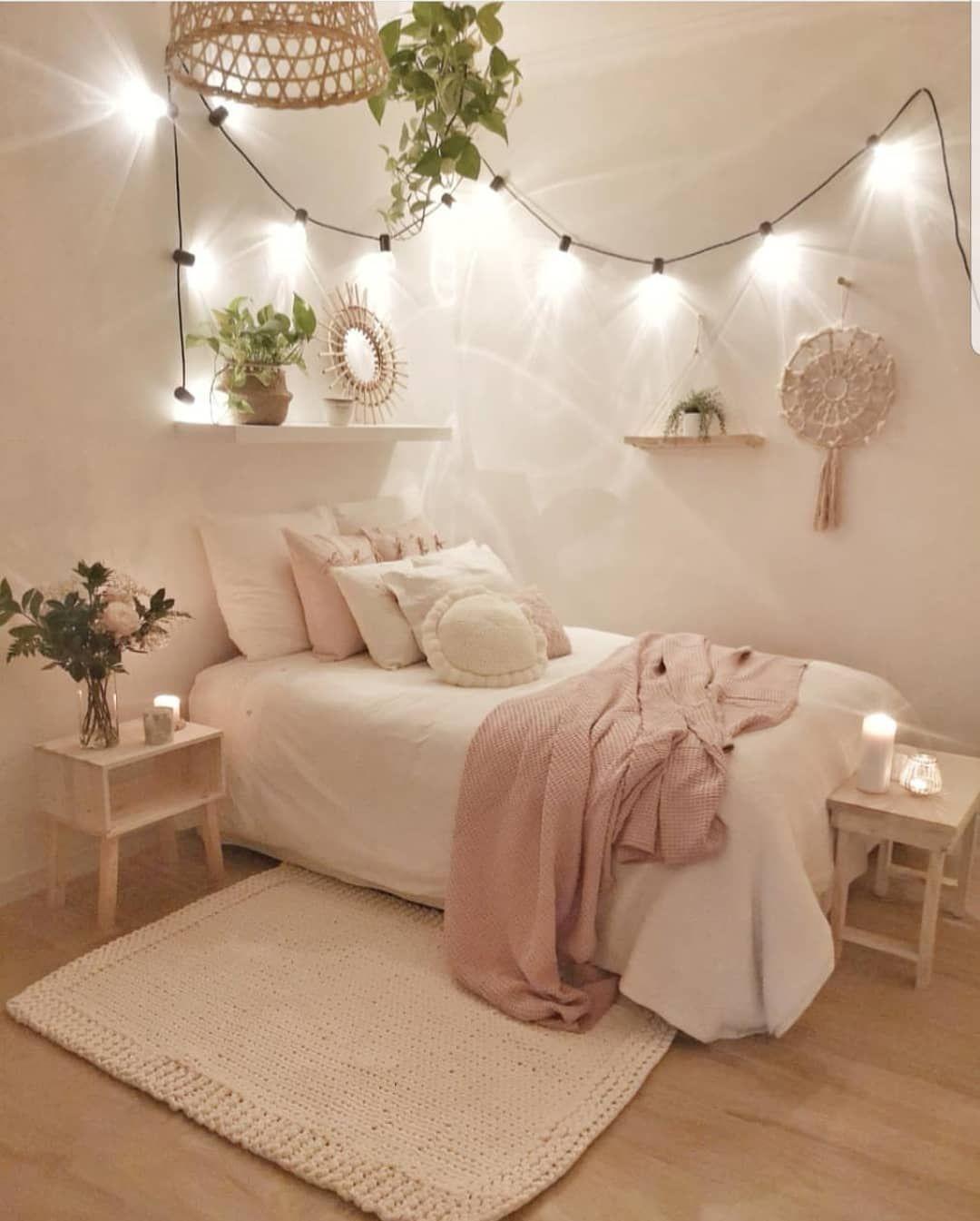 Credit 📷 sandradeco  sweet home bedroomdecor bedroom ...
