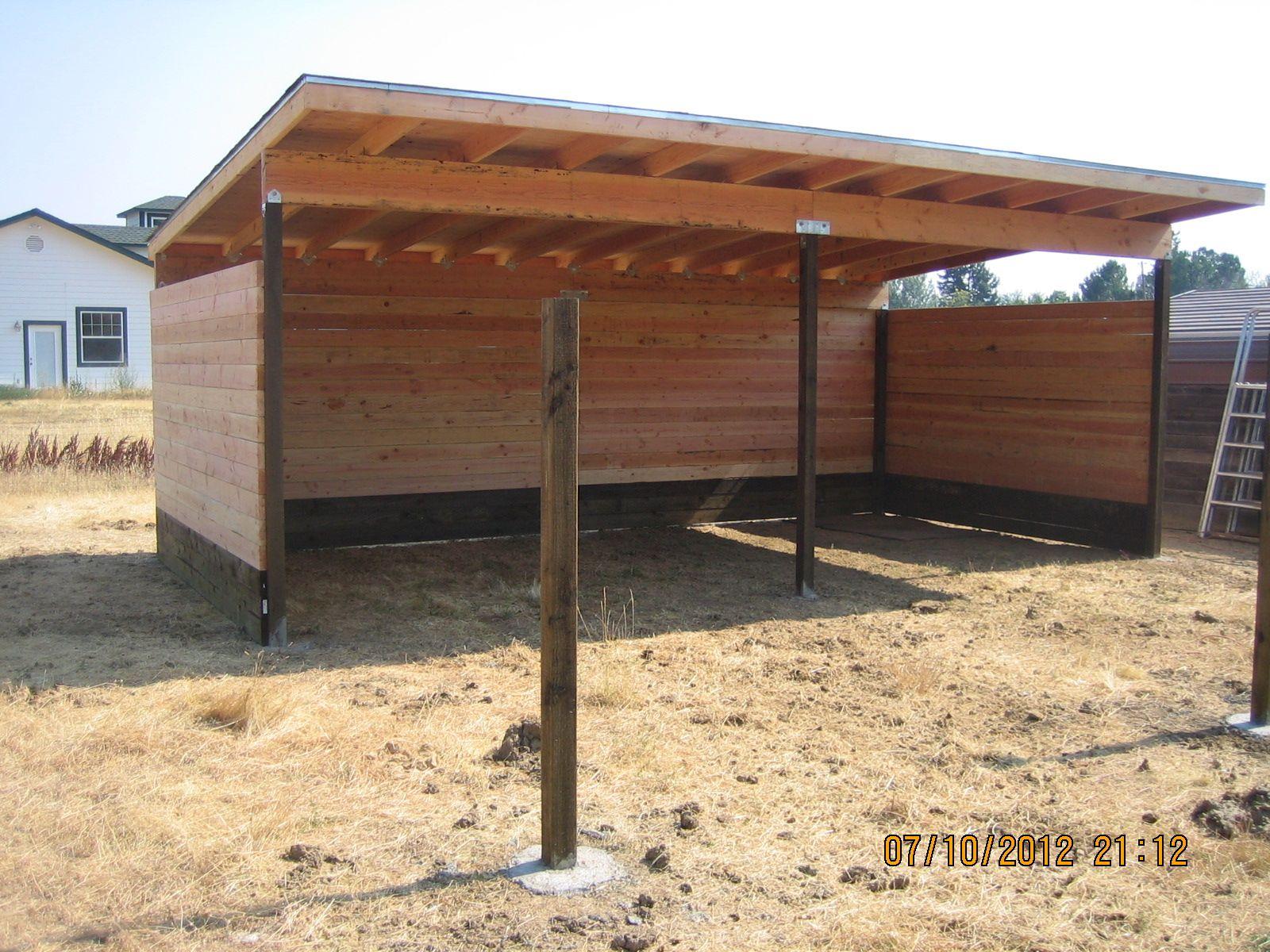 Horse shelter horse shelter small horse barns diy
