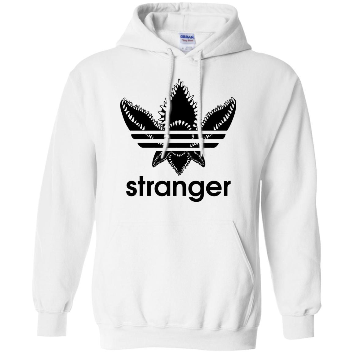 Stranger Things Stranger Demogorgon Adidas Shirt Hoodie Long Sleeve Camisetas Stranger Things Roupas Moletons [ 1155 x 1155 Pixel ]