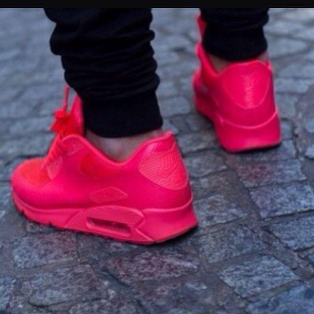 nike air max 90 schwarz mit neon pink