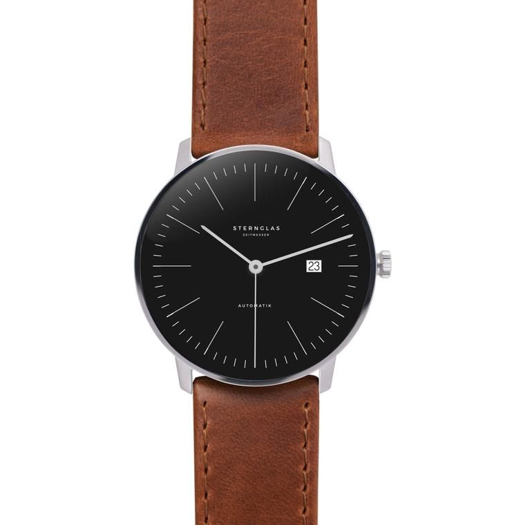 STERNGLAS Automatic 38 mm brown black edition