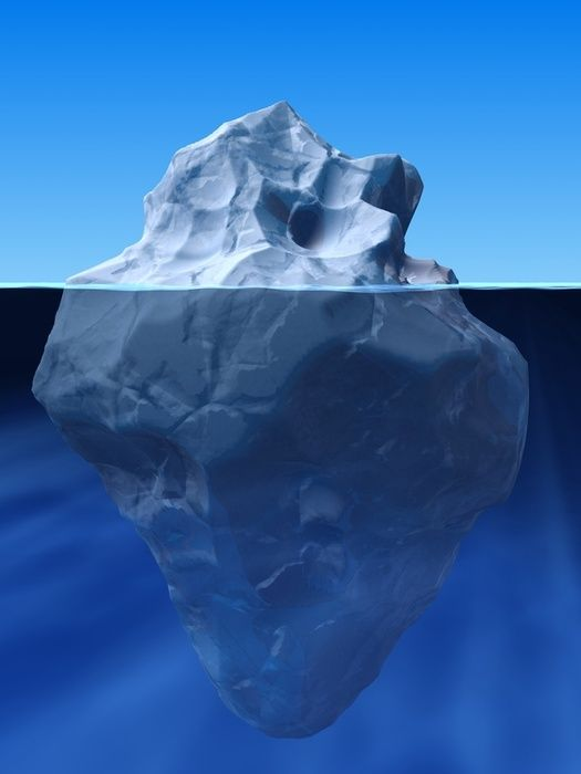 Jurisprudence is like an iceberg