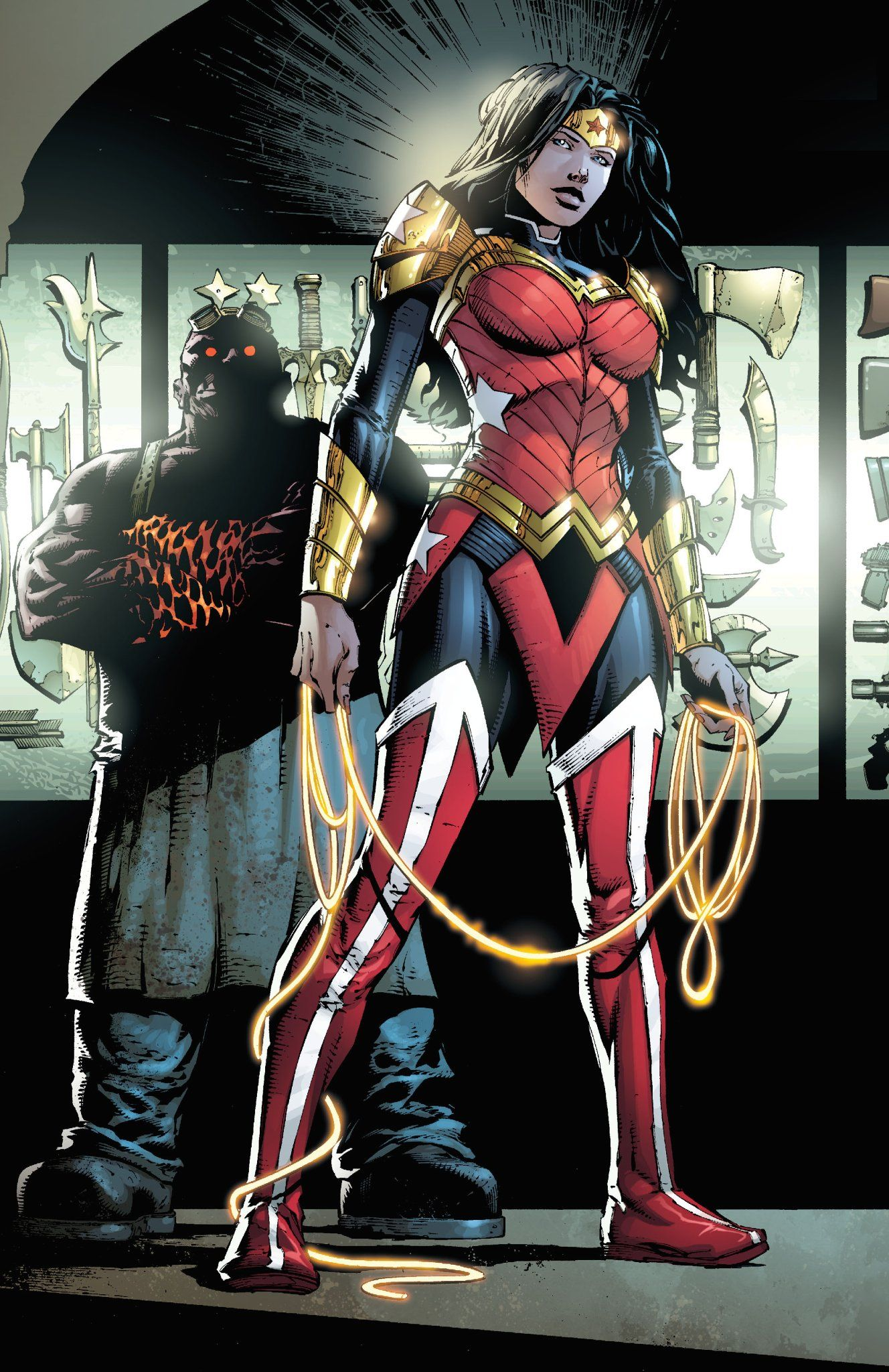 The Reason For Wonder Womans New Costume - Yahoo Games -9023