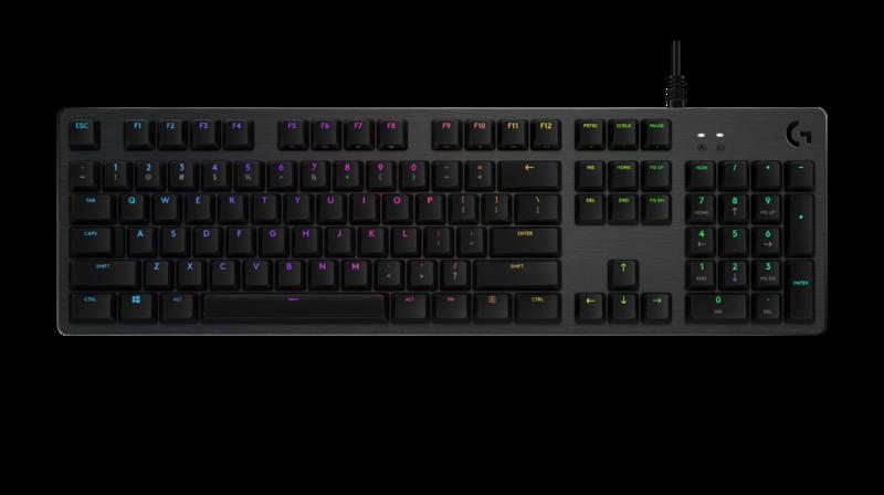 Logitech G512 Mechanical Gaming Keyboard Logitech Keyboard Mechanic