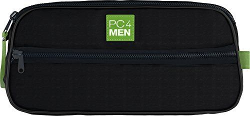 PC4Men Essential Travel Toiletry Bag for Men Nylon Dopp Kit Grooming and Toiletry Organizer MultiCompartments for Shaving Accessories and Personal Items Dark Blue -- Visit the image link more details. Note:It is Affiliate Link to Amazon.
