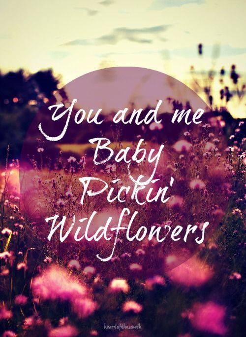 Pickin Wildflowers Music Makes The World Go Round Pinterest
