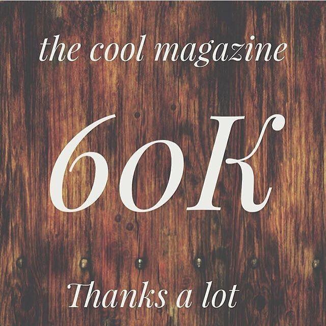 You're rock guys congrats  follow @thecoolmagazine #thecoolmagazine