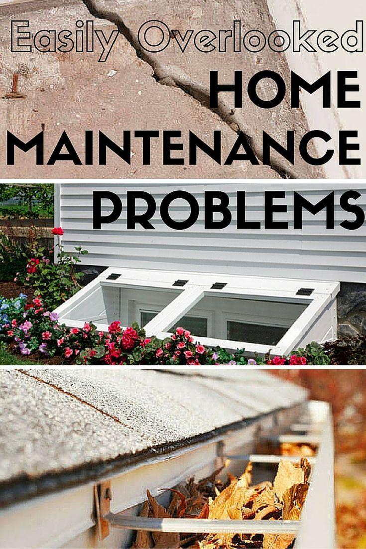 7 Problembereiche, die Sie übersehen – sollten es aber nicht,  #Aber #die #homemaintenance #N…