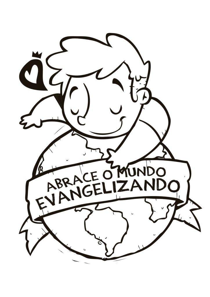 Imprimir Com Imagens Culto De Missoes Evangelizacao Infantil