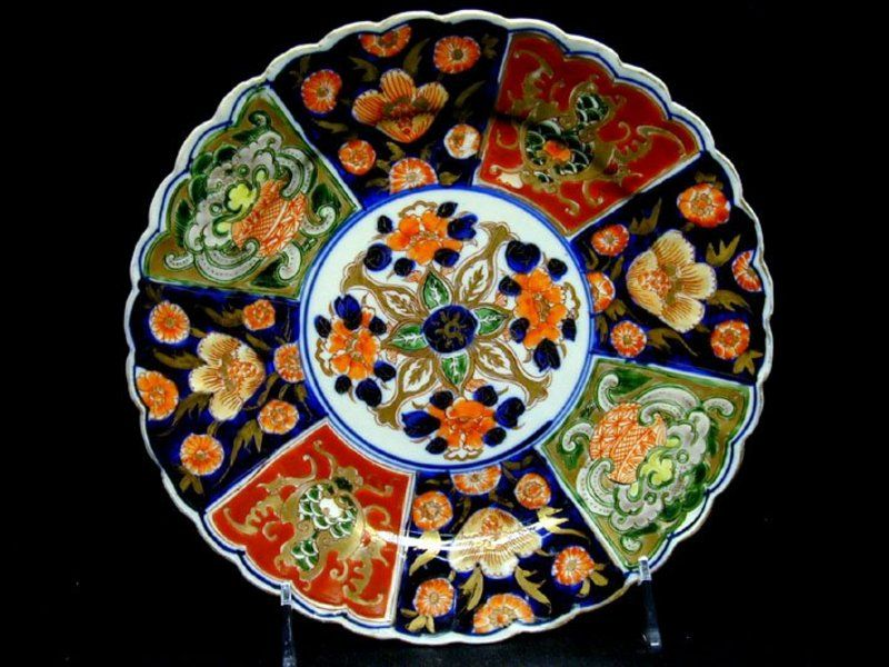 An Antique Japanese Imari Plate Meiji PeriodJapanese Art\u200d♀️More Pins Like This At FOSTERGINGER  sc 1 st  Pinterest & An Antique Japanese Imari Plate Meiji PeriodJapanese Art\u200d♀️More ...