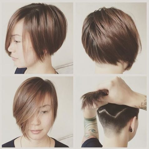 50 Couleurs Pour Vos Cheveux Courts ! Cheveux courts