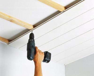 comment monter faux plafond pvc la