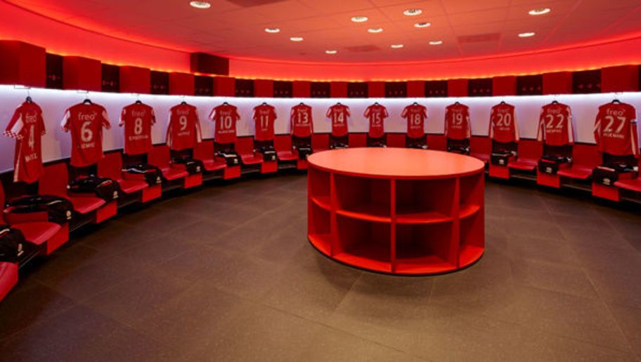 Psv Eindoven Football Soccer Locker Rooms