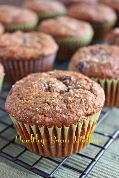 Healthy Bran Muffins - Brown Sugar