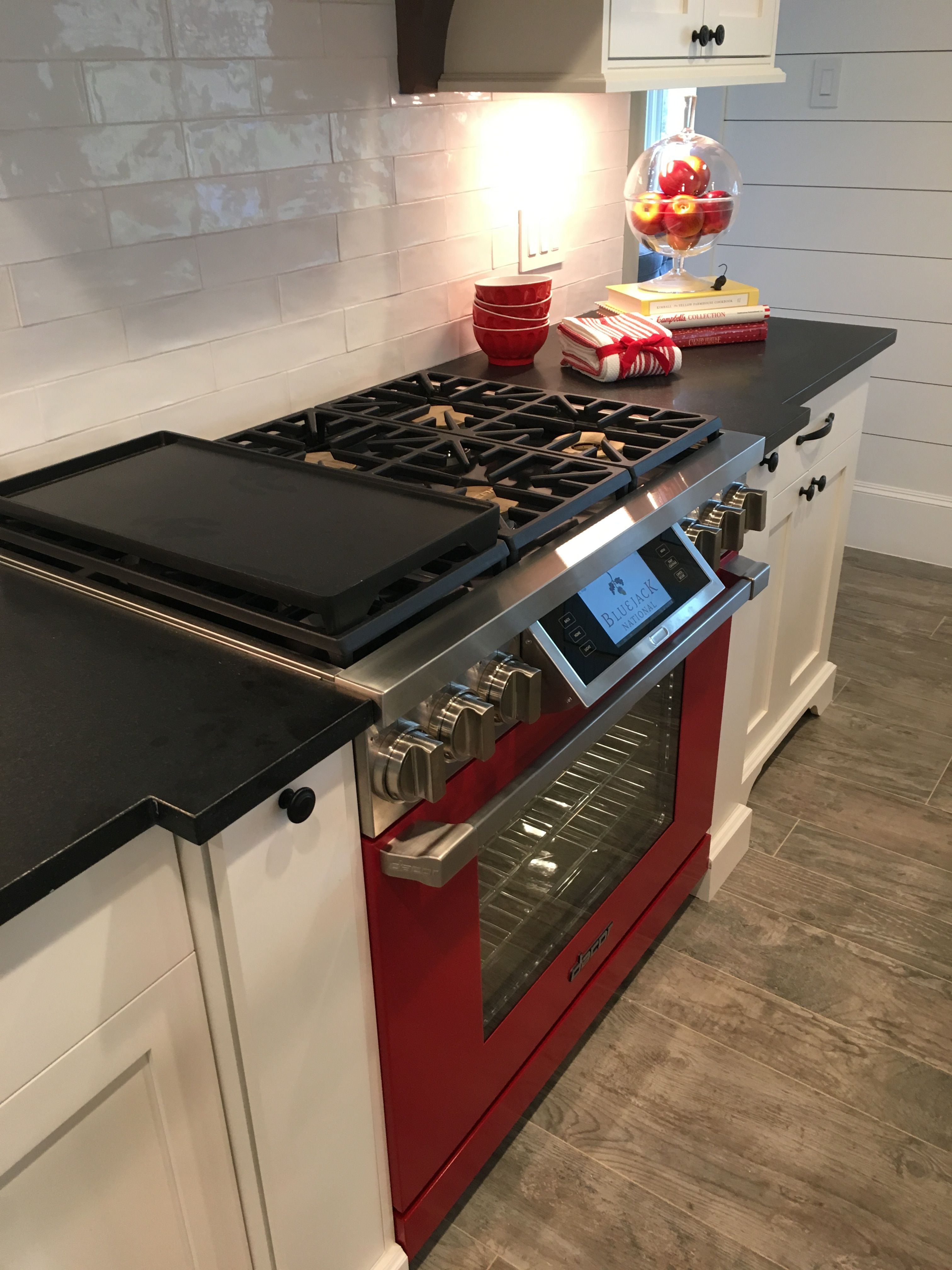 Dacor Appliances Featured In This Project 36 Inch Custom Colored Haute Red Dacormatch Discovery Iq Dual Outdoor Kitchen Appliances Outdoor Appliances Kitchen